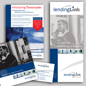 image of finance design brochure