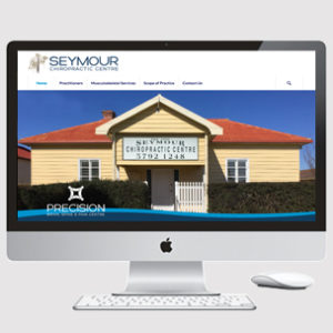 Website design for Chiropractic practice