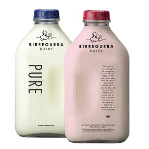 image of milk packaging design