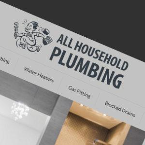 image of Plumbing website design