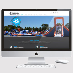 Water Park Website Design with Bookings