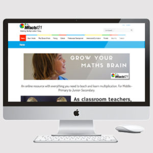 image of teaching website design