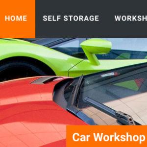 image of storage company website design