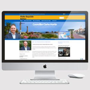 image of politics website design