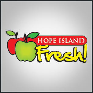 Fresh food company with apple motif